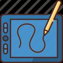 sketch, drawing, design, art, pen tablet, graphic, tool