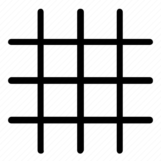 grid, guide icon