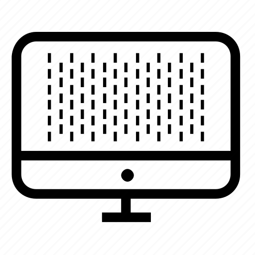 design, grid, monitor, screen icon