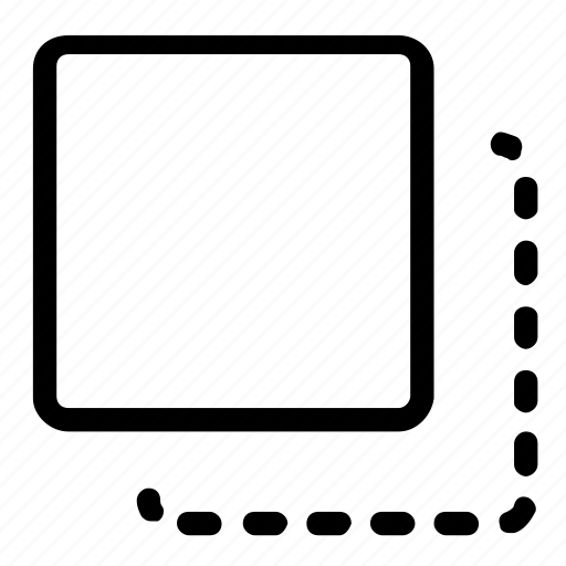 cut, extract, screen icon