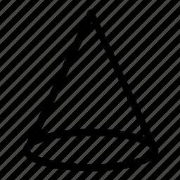 cone, shape icon