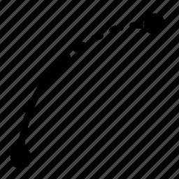 arc, line icon