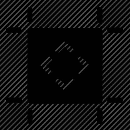 alignment, artboard, center icon