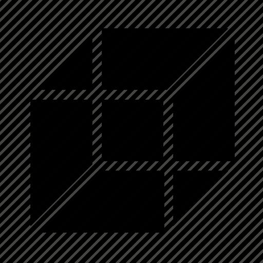 box, cube, shape icon