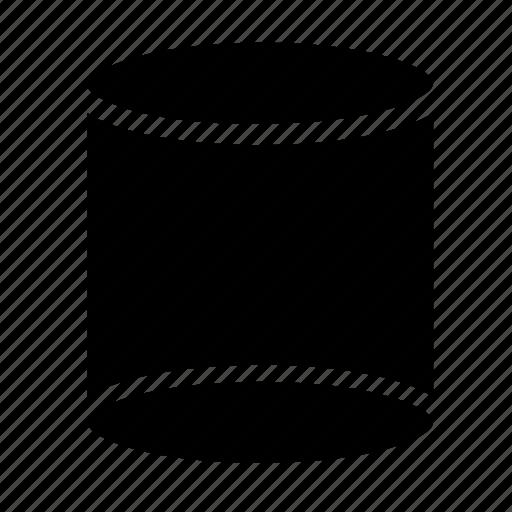 cylinder, shape icon