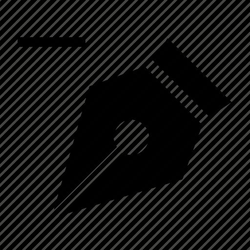 anchor, delete, pen icon