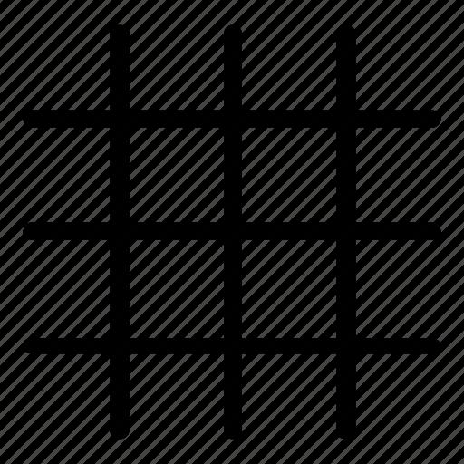 grid, line, lines icon