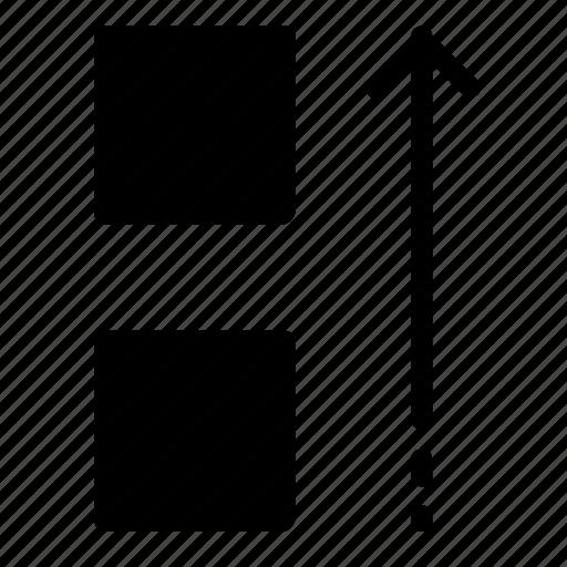 move, square, up icon