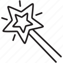 design, graphic, magicwand, star, tool, tools icon