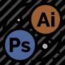 art, branding, designing icon