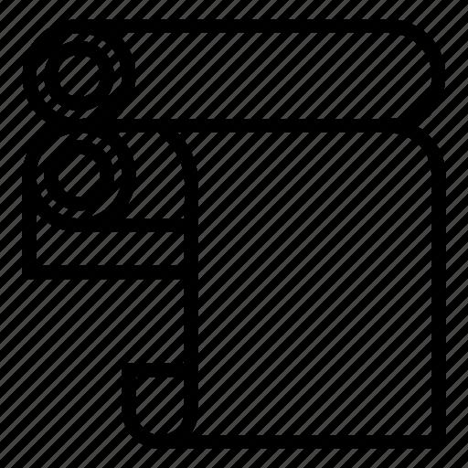 design, designing, heatpaper icon
