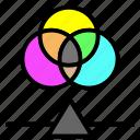 color, graphic, paint, palette, rgb icon