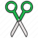scissor, cutting, scissors, cut, equipment, tool icon