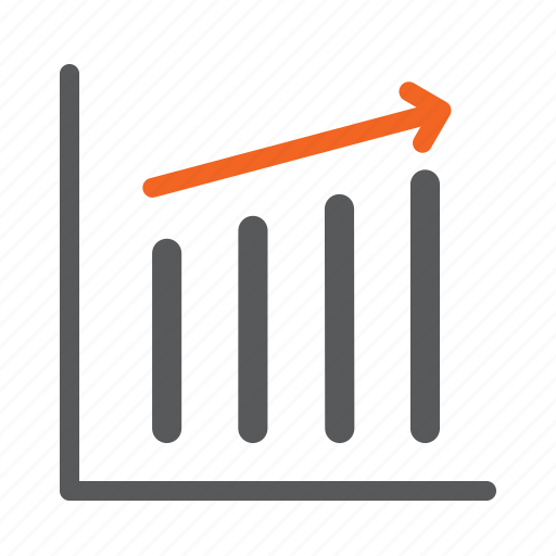 graph, growth, progress, success, up icon