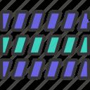 multi, block, chart, graph, data, bars
