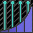 ramp, chart, graph, data, bar