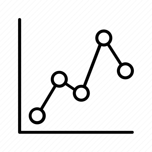 area, chart, circle, graph, line icon