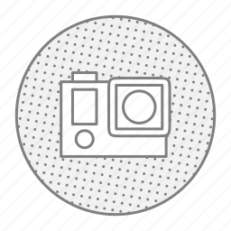 action, camera, gopro, photo, video icon