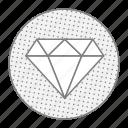 brilliant, casino, diamond, jewel, money icon