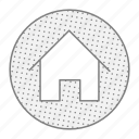 apartment, home, house, propert icon