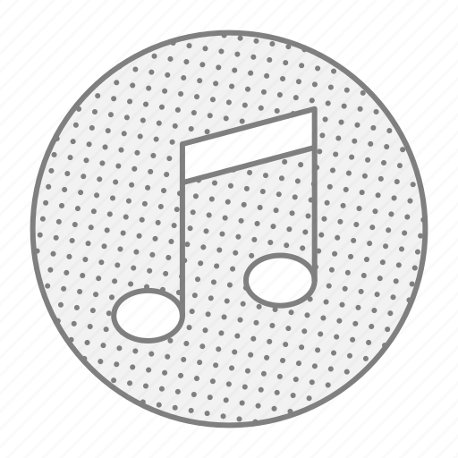 audio, media, musical, note, sound icon