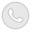 call, communication, contact, phone, support icon