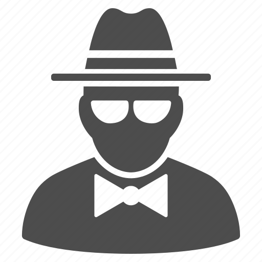agent, detective, hacker, secret service, security, spy, thief icon