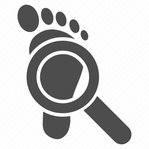 audit, check, explorer, fingerprint, report, search, stamp icon