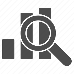 find, progress, report, sales, statistics, stock market, view charts icon