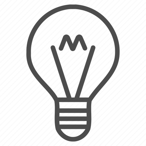 bulb, electric, electricity, light, power, science, tip of the day icon