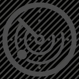 coordinates, map, monitor, navigation, radar, screen, signal icon