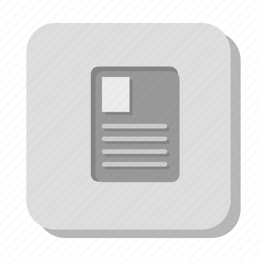 cv, doc, document, gray, page, sheet, text icon