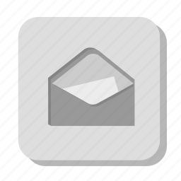 chat, contact, email, envelope, gray, letter, mail, message, send, talk, text icon