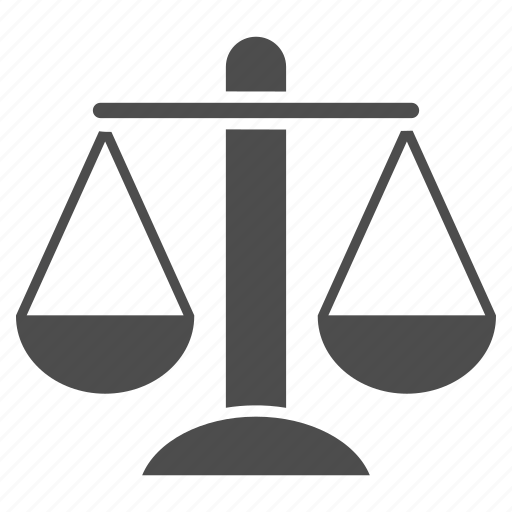 balance, compare, court, femida, government, judge, justice, law, lawyer, legal, measure, measurement, rule, scale, scales, themis, weight icon