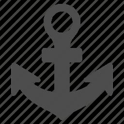 anchor, link, marine, nautical, sailing, sea port, seo icon