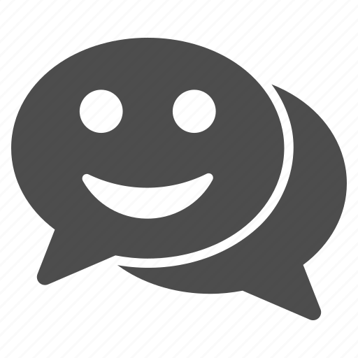 bubble, chat, comment, communication, dialog, speech, talk icon
