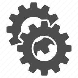 gear, gears, industry, machine, settings, tools, work icon