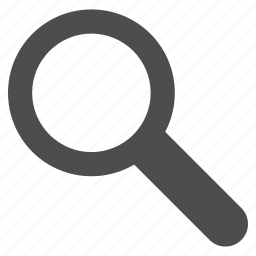 explore, find, look, magnifying glass, search, view, zoom icon