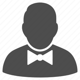 artist, musician, performer, restaurant staff, spy, steward, waiter icon