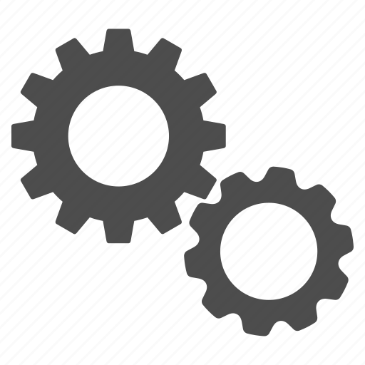 desktop options, gear box, gears, industry, settings, system, tools icon