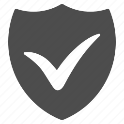 antivirus, guard, ok, protection, safety, security, shield icon