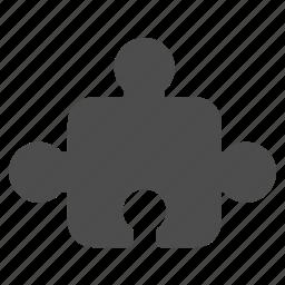 construct, element, part, plug in, plugin, puzzle element icon