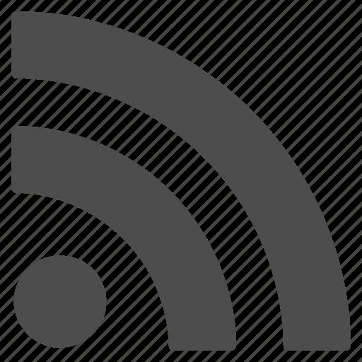 blog, communication, news, radio signal, rss feed, social, wireless icon