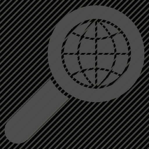 earth, explore world, globe, navigation, seo, travel, view map icon