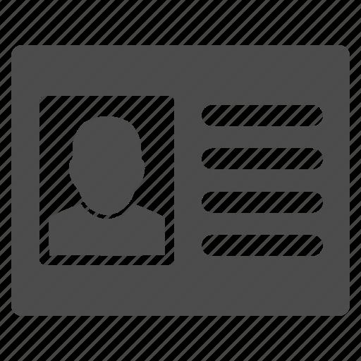 account, customer profile, file cabinet, patient info, person, user account, user card icon