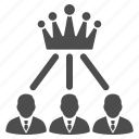 admin, boss, gold crown, king, monarchy, power, rating icon