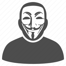 agent, anonimious, crime, hacker, hidden, secret mask, thief icon