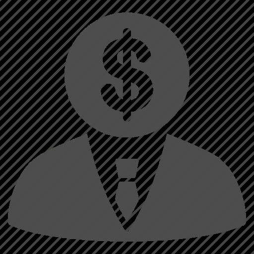 banker, businessman, capitalist, commersant, economist, financial manager, rich icon