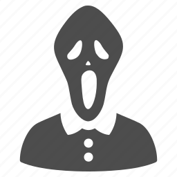 death, face, ghost, halloween, horror mask, movie, scary movie icon