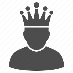 crown, government, king, moderator, power, queen, rule icon